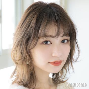 前髪巻く派のセルフカット★ 女らしいくしゅバングの切り方を超ていねい解説!