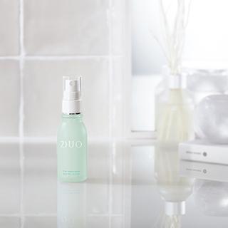 「デュオ」から洗顔料と先行型ミスト美容液がデビュー