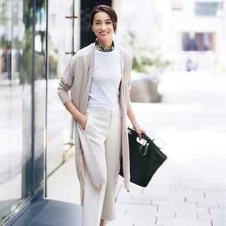 """""""感じのいい仕事服""""のパンツは、女っぷり20%増しコーデで!"""