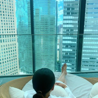 CONRAD東京 水月SPA&Fitness♡太陽光が差し込む、解放感に溢れる空間で♪_1_9-2