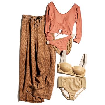 【大人の水着&水際スタイル】「ミュラー オブ ヨシオクボ」で大人の身体を美しくカバー