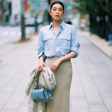 おすすめブランドの最旬スカート1/サクラ、ウィム ガゼット、アルアバイル【春、注目したい「甘くないスカート」】