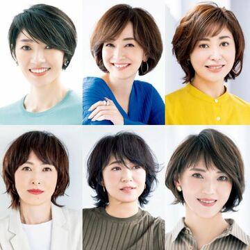 清潔感があって上品な「大人のショートヘア」【50代髪型月間人気ランキングTOP10】