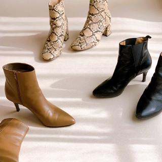 今年の冬の足元はブーツで決まり!