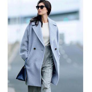 リュクス感をまとえる柔らか色のコート
