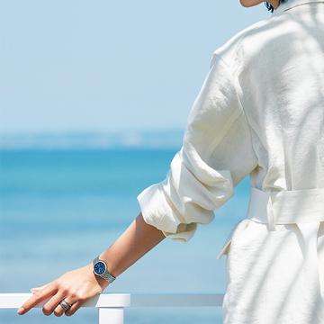 【ジャガー・ルクルトの夏時計】上質なブルーの文字盤が夏のお出かけを彩る