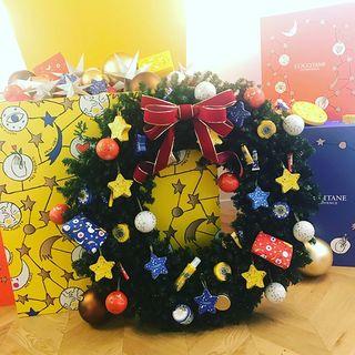 今年最初のクリスマスリース☆