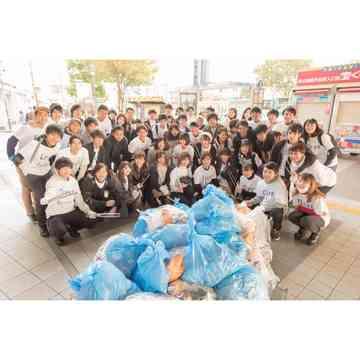 ハロウィンの翌日は♡ゴミ拾いin渋谷