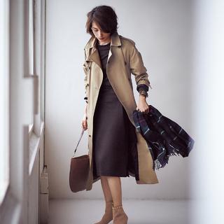 ■凛とした美しさのブーツでカジュアル感をセーブ