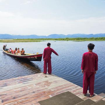 <ミャンマーの旅>Hiden Hideaway Hotel in Inle Lake(インレー湖 ②)