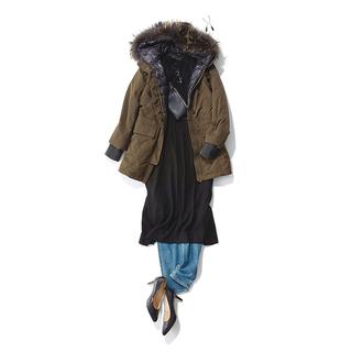 冬のデニムを女らしく着こなす!アラフォーからのデニムコーデ15選