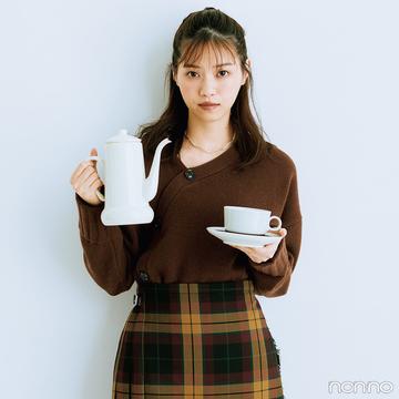【#西野七瀬の毎日ニット】10/22は「ドリップコーヒーの日」