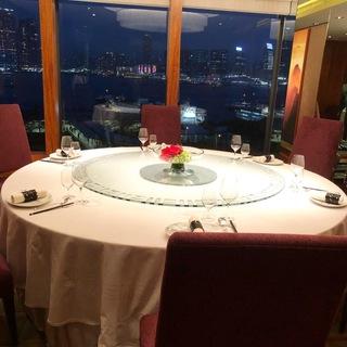 広東料理の最高峰Lung King Heen(龍景軒)へ