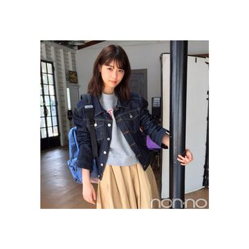 西野七瀬のゆるGジャンコーデがやんちゃ可愛い♡【毎日コーデ】