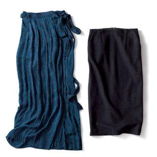 パンツ派・エディター磯部安伽が選んだこの冬のスカートはこの2枚!