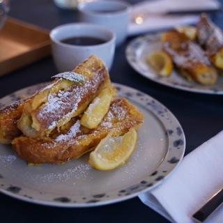 超簡単、幸せの「レモン フレンチトースト」