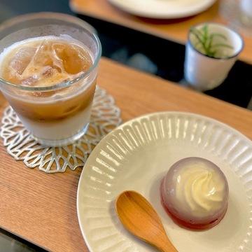 お取り寄せスィーツでおうちカフェ~レアチーズの水まんじゅう♡