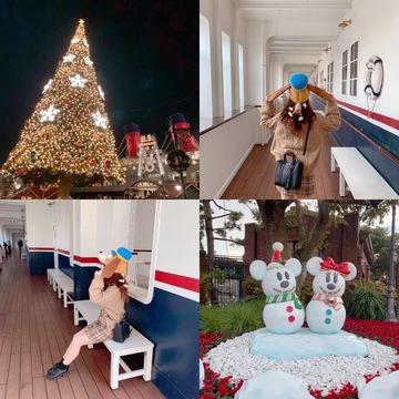 【 TokyoDisneysea 】クリスマスシーズンのディズニー・シーに行ってきました ❤︎