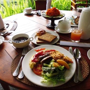 幸せを感じる宿の朝食。それは…〇〇!