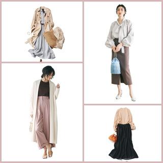 2021年春は、女らしくて上品なフェミニンコーデが気分! 40代のフェミニンコーデまとめ|アラフォーファッション