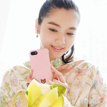 グッチのスマホケース♡ ミルキーピンクに立体ネコがたまらない!【20歳からの名品】
