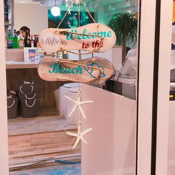 砂浜カフェ♡