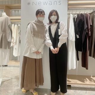 【#Newans】伊勢丹新宿開催のPOP UPに行ってきました♩