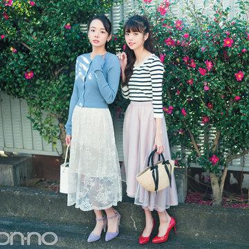 今までとひと味違う技ありタイプにキュン♡透けスカート