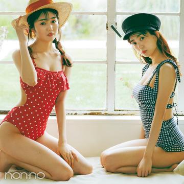 【トレンド水着で体型カバー♡】おなかをすっきり見せるならこのタイプ!