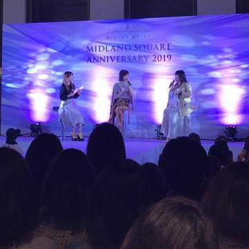 [富岡佳子private life]エクラ&ミッドランドスクエア ファッションイベント