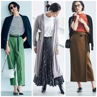 平均気温25度の初秋にベストな服装は? 季節の変わり目に着たいコーデ|40代ファッションまとめ