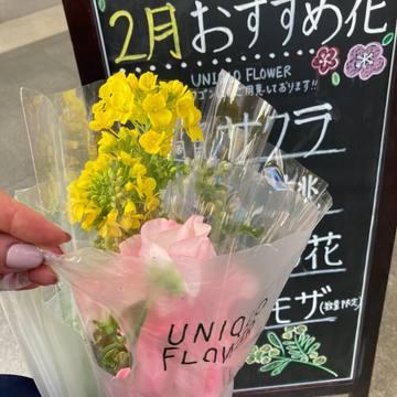 ユニクロでお花が買える!?