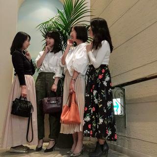 オシャレな美女組メンバーとのランチ会
