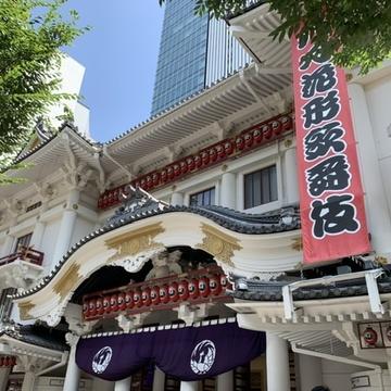誕生日は恒例の八月花形歌舞伎へ