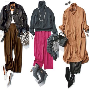 【2020年冬ファッション】50代向け冬のパンツコーデカタログ。きれいめ美脚スタイル34