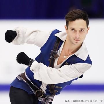 フィギュアスケート男子・イスラエル代表オレクシイ・ビチェンコ