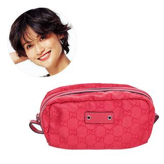 モデル 渡辺佳子さん「あなたのコスメポーチの中身、見せてください!」