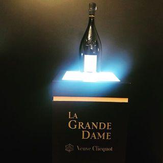 シャンパンのヴーヴ・クリコ『ラ・グランダム2008』のローンチレセプションに伺いました!