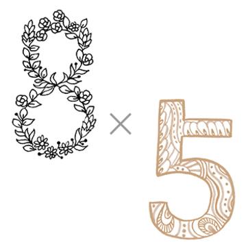 8×5 (自由を満喫する年)