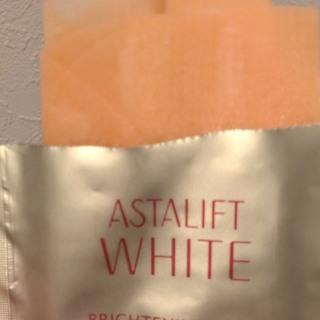 アスタリフト ホワイト ブライトニングマスクは凄い♡シミが薄くなりました。_1_2-1