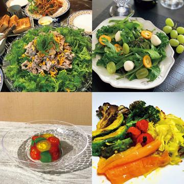 テーブルが華やぎ美容にもうれしい!「体が喜ぶ美サラダ」【Jマダム通信】