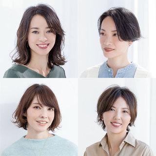 秋への準備は新しい髪型から!40代のためのヘアスタイル月間ランキングTOP10