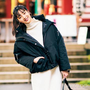 新川優愛の冬私服♡ 彼&家族と初詣出に行くときはあったかわいく!