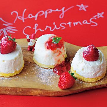 紙コップとカステラで♡ 簡単にトレンド顔のクリスマススイーツが完成!