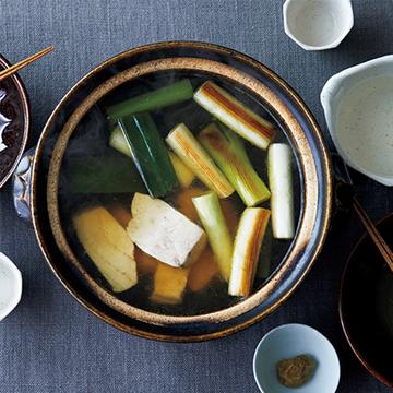 日本酒と楽しみたい! メカジキのねぎま風柚子こしょう鍋【絶品鍋レシピ28days】