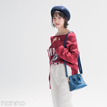 優子・七瀬・まなみんが着る! おしゃれ度急上昇♡ 赤×ネイビー×白の春コーデ4選