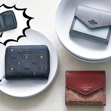 コーチのミニ財布は、思ったより入る! 機能的で収納力たっぷり♡ 【20歳からの名品】