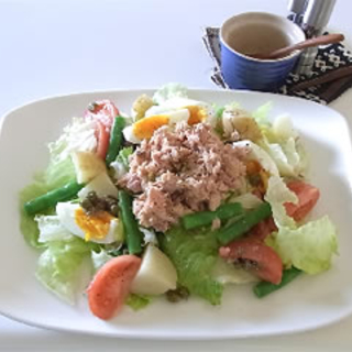 地中海の味を再現♪色鮮やかでおしゃれなニース風サラダレシピ