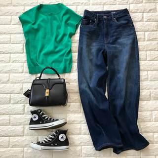 着痩せデニムは2,990円!気になる体型ほとんどカバー【高見えプチプラファッション #18】