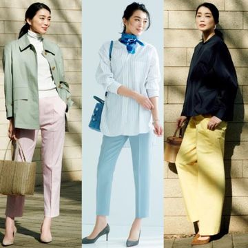 【2020年春ファッション】50代向け『主役級パンツ』しゃれ見えコーデカタログ